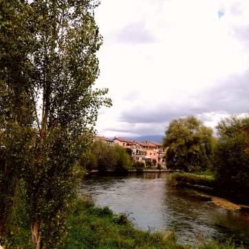 Lungo fiume Velino Rieti